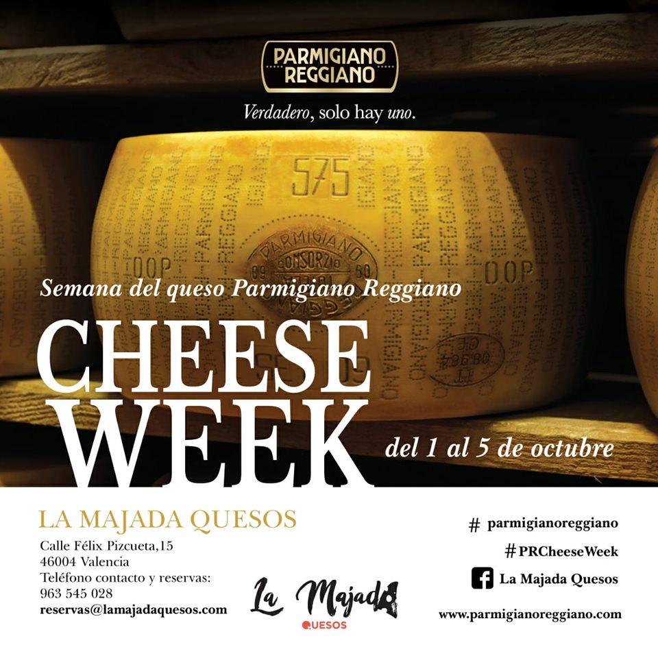 Del 1 al 5 de octubre: Semana del Parmiggiano Reggiano