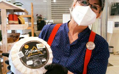 Bienvenido el queso artesano Zalamero