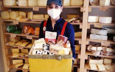 Cestas de quesos artesanos para regalar