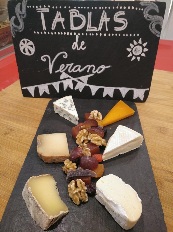 Tablas de quesos para llevar