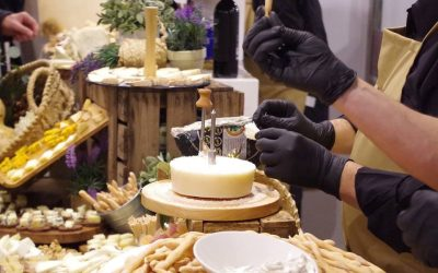 Mesas de quesos para bodas